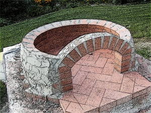 How To Construct A Pizza Oven Dome Out Of Brick Pinkbird