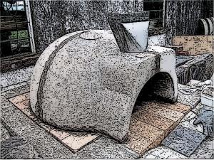 precast oven dome