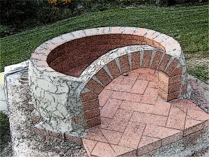 Diy Brick Fire Pit Plans