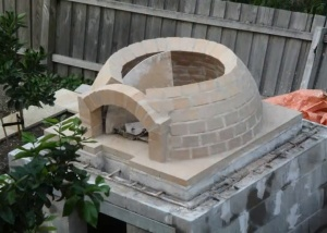Building Plans For A 42 Inch Igloo Brick Pizza Oven Diy