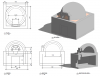 Building plans for a 42 inch igloo brick pizza oven step8.png