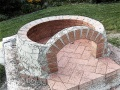 Tuscan pizza oven dome construction 2.jpg